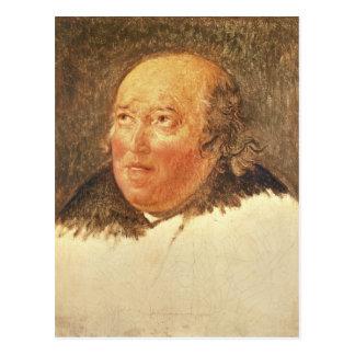 Portrait of Michel Gerard Postcard