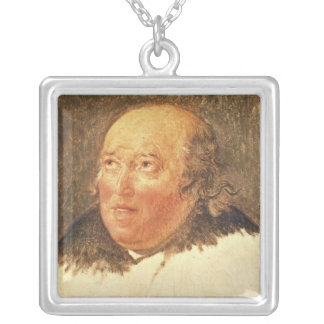 Portrait of Michel Gerard Silver Plated Necklace
