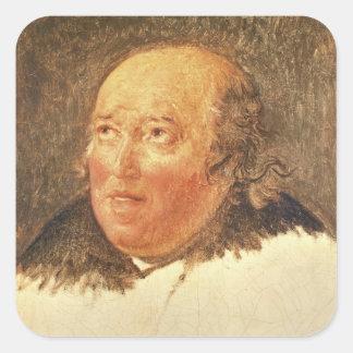 Portrait of Michel Gerard Square Sticker