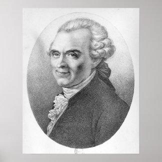 Portrait of Michel-Jean Sedaine Poster
