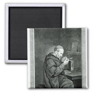 Portrait of Michel Nostradamus Magnet