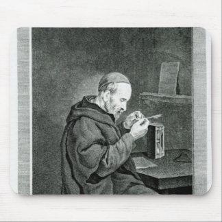 Portrait of Michel Nostradamus Mouse Pad