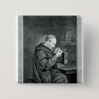 Portrait of Michel Nostradamus Pinback Button