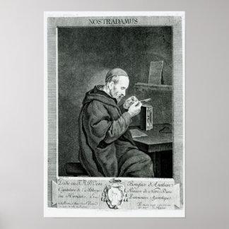 Portrait of Michel Nostradamus Poster