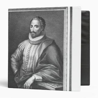 Portrait of Miguel de Cervantes Saavedra Binder