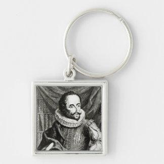 Portrait of Miguel de Cervantes Saavedra Key Chains