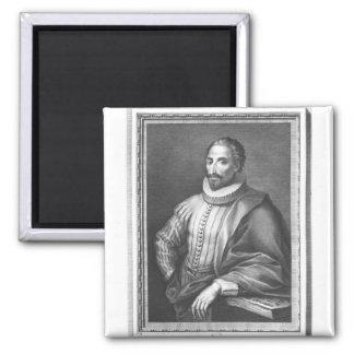 Portrait of Miguel de Cervantes Saavedra Magnet
