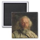 Portrait of Mikhail Alexandrovich Bakunin  1871 Magnet