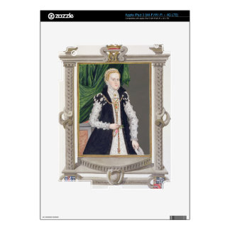 Portrait of Mildred Cooke, Lady Burghley from 'Mem Decals For iPad 3