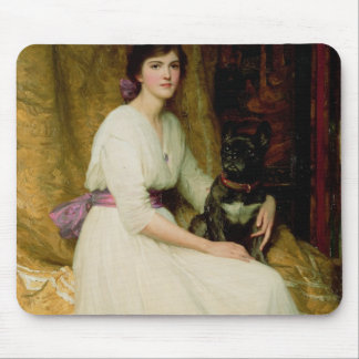 Portrait of Miss Dorothy Dicksee Mouse Pad
