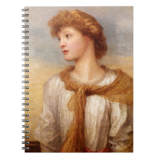 Portrait of Miss Lillian Macintosh Notebook