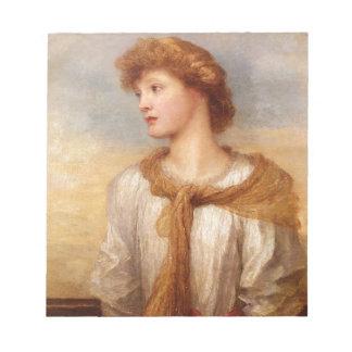 Portrait of Miss Lillian Macintosh Notepad