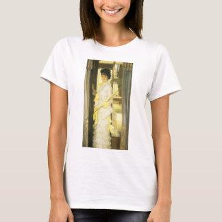 Portrait of Miss Lloyd by Tissot, Vintage Fine Art T-Shirt