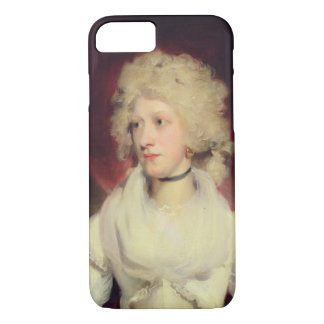 Portrait of Miss Martha Carr (oil on canvas) iPhone 8/7 Case