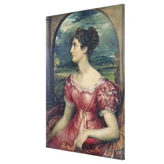 Portrait of Miss Puxley, 1826 (oil on canvas) (see Canvas Print