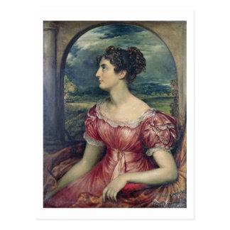 Portrait of Miss Puxley, 1826 (oil on canvas) (see Postcard