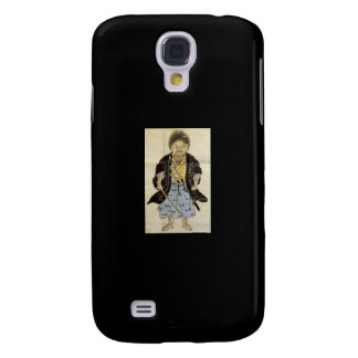 Portrait of Miyamoto Musashi as a Boy, Edo Period Samsung Galaxy S4 Cases