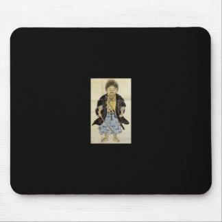 Portrait of Miyamoto Musashi as a Boy, Edo Period Mouse Pad