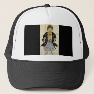 Portrait of Miyamoto Musashi as a Boy, Edo Period Trucker Hat