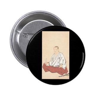 Portrait of Miyamoto Musashi, Edo Period Pins