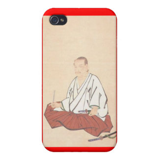 Portrait of Miyamoto Musashi, Edo Period iPhone 4 Covers