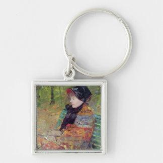 Portrait of Mlle C. Lydia Cassatt, 1880 Keychain