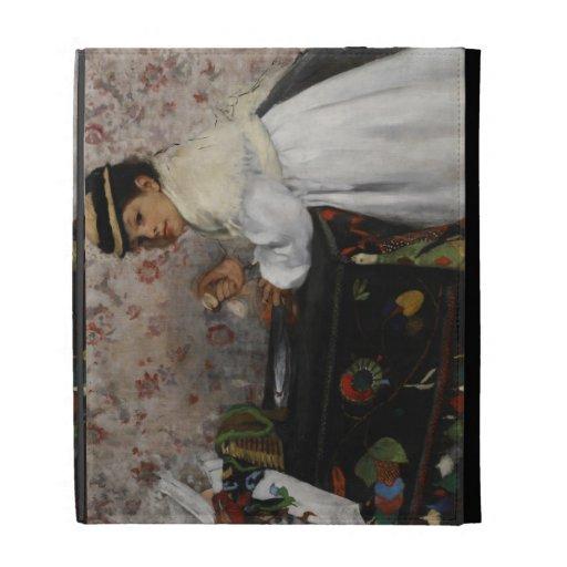 Portrait of Mlle. Hortense Valpinçon, c.1871 iPad Cases