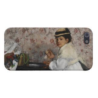 Portrait of Mlle. Hortense Valpinçon, c.1871 iPhone SE/5/5s Cover