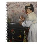 Portrait of Mlle. Hortense Valpinçon, c.1871 Notebook