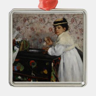 Portrait of Mlle. Hortense Valpinçon, c.1871 Christmas Tree Ornaments