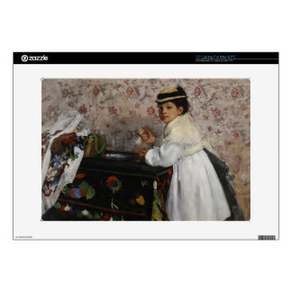 Portrait of Mlle. Hortense Valpinçon, c.1871 Laptop Decals