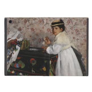 Portrait of Mlle Hortense Valpincon by Edgar Degas Cover For iPad Mini