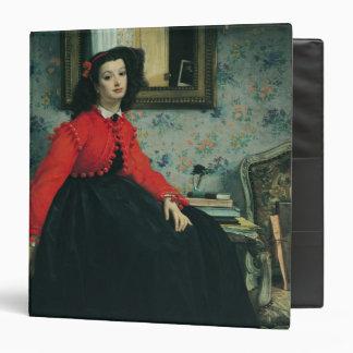 Portrait of Mlle. L.L.  1864 Binder