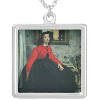 Portrait of Mlle. L.L.  1864 Jewelry