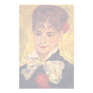 Portrait Of Mme Iscovesco (Portrait Of A Romanian) Custom Stationery
