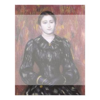 Portrait of Mme Paulin by Pierre-Auguste Renoir Flyer