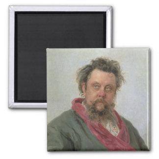 Portrait of Modest Petrovich Moussorgsky  1881 Magnet