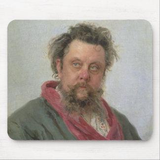 Portrait of Modest Petrovich Moussorgsky  1881 Mouse Pad