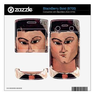Portrait of Moiise Kiesling by Amedeo Modigliani BlackBerry Bold Skins