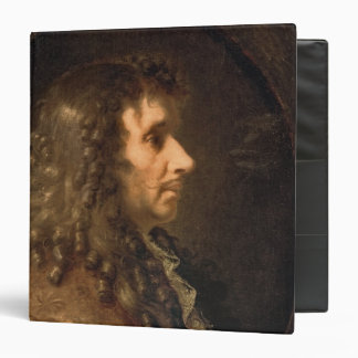 Portrait of Moliere  1660 3 Ring Binders