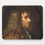 Portrait of Moliere  1660 Mouse Pad