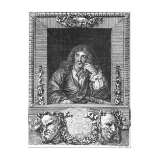 Portrait of Moliere Canvas Print