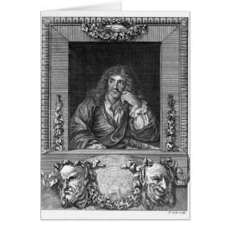 Portrait of Moliere Cards
