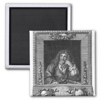 Portrait of Moliere Fridge Magnet