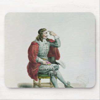 Portrait of Moliere  in the role of Arnolfe Mousepads