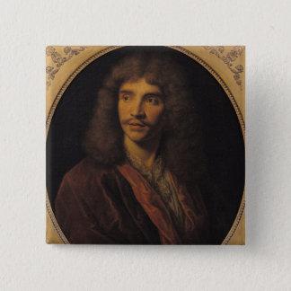 Portrait of Moliere Pinback Button