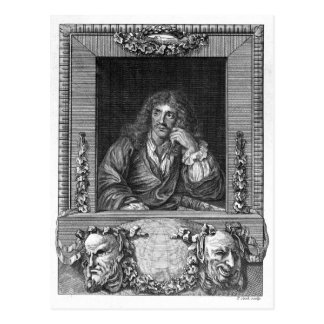 Portrait of Moliere Postcard