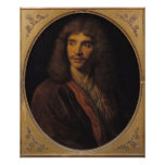 Portrait of Moliere Poster