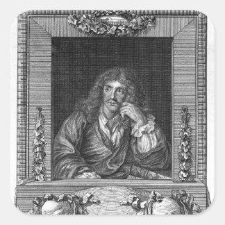 Portrait of Moliere Sticker