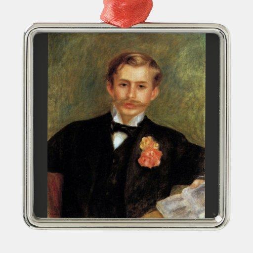 Portrait of Monsier Germaine by Pierre Renoir Ornament